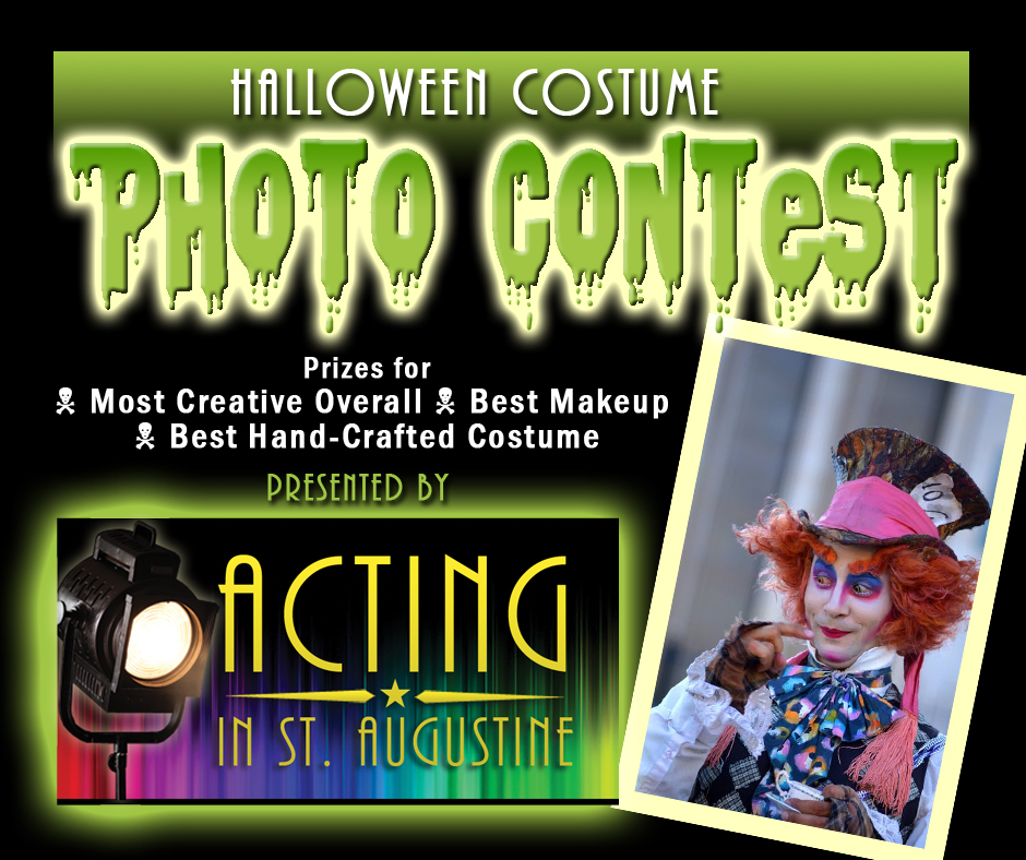 Acting In St. Augustine Halloween Costume Photo Contest