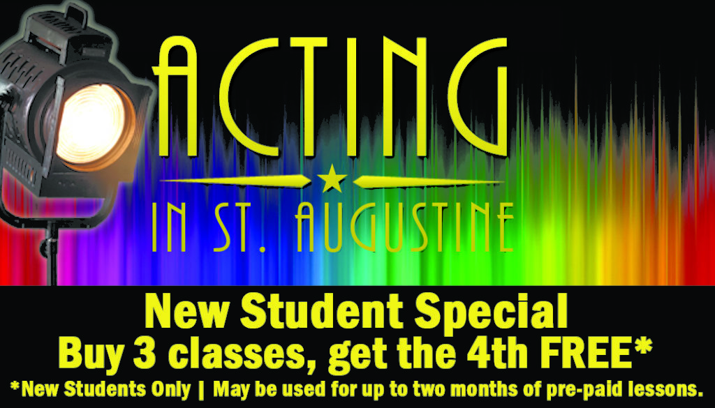 New Student Special, Buy 3 classes, get one FREE!