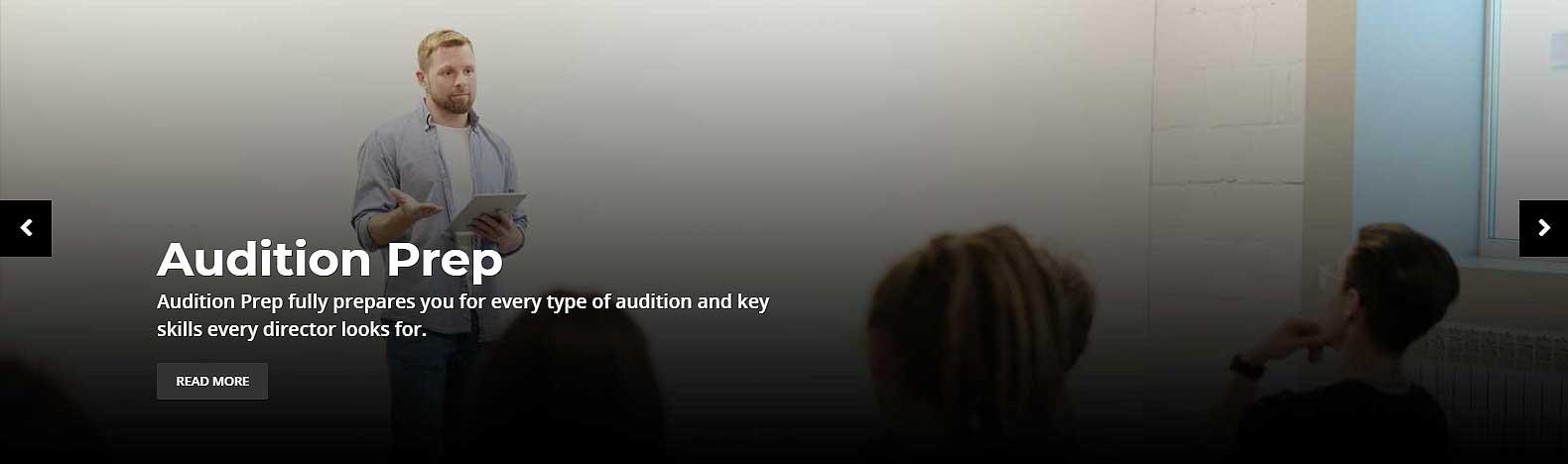 audition prep